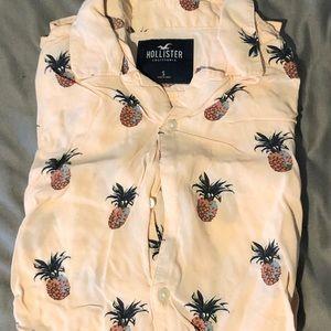 Hollister Pineapple Buttondown